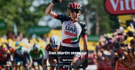 Dan Martin Tour de France 2018